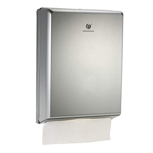 Toilet Paper Dispenser Multi-fold White Plastic Mini Paper Hand Towel Bathroom